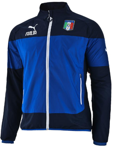 Jaket GO Italy Official World Cup 2014 Blue Black