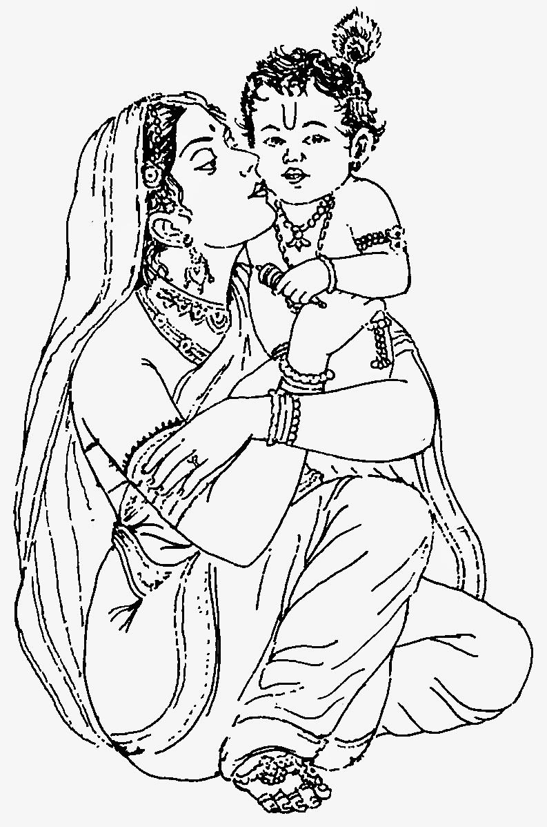 clipart of lord krishna - photo #34