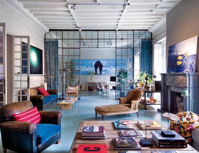Decor me casas de famosos la vivienda del dise ador - Disenador de espacios ...