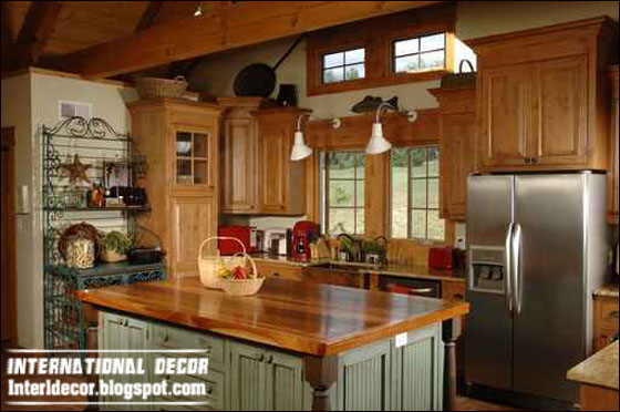 Country Kitchen Style For Modern House Classic Wood Kitchen Cabinets Design Classic Kitchen Furniture Design