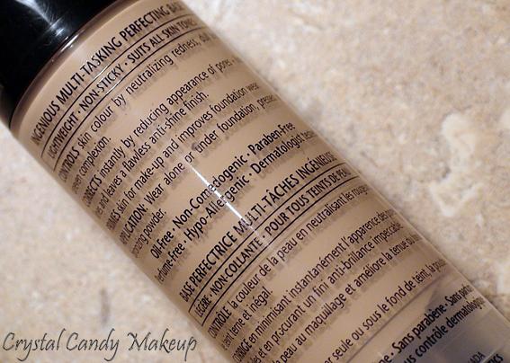 Base perfectrice instantanée contrôle couleur CC Annabelle  - Fini Lumineux et Naturel - Colour Control Instant Perfecting Base Cream - Luminous and Natural Finish - Review