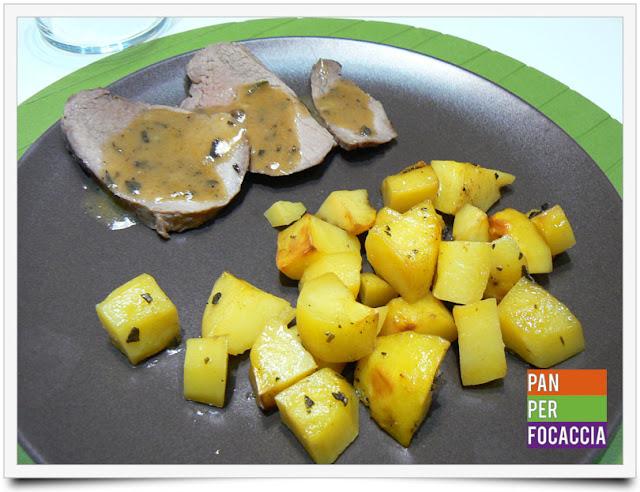 arrosto al forno con patate