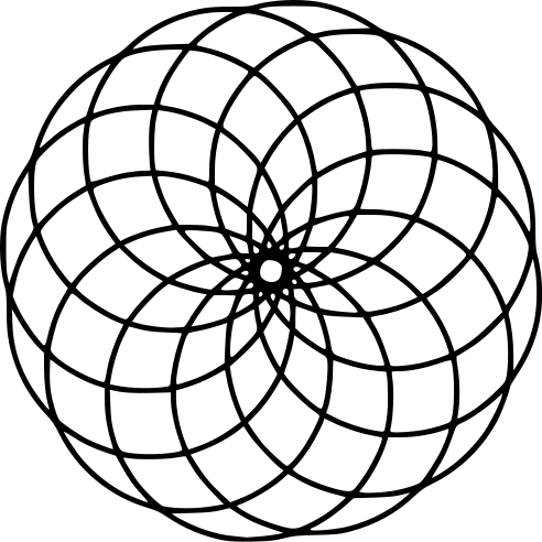 mandala redonda