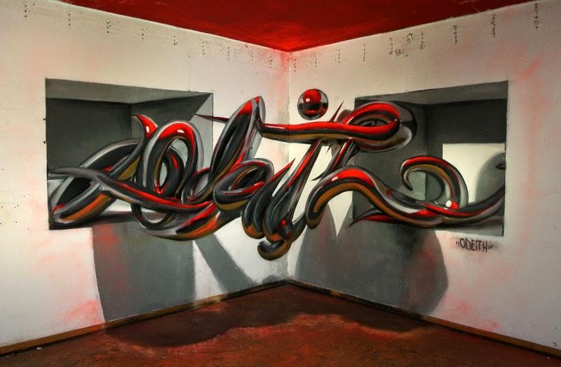 Por amor al arte graffiti murales anam rficos que parecen for Murales para fotografia