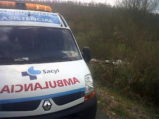 ambulancia del 112 servicios de emergencia