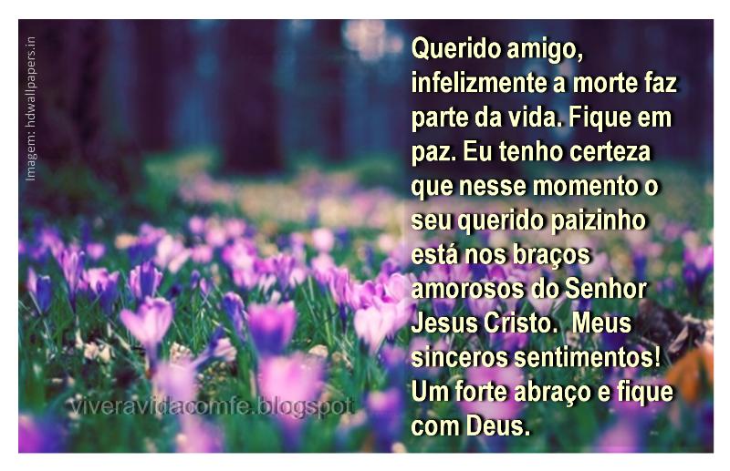 Mensagens de Fé da Palavra de Deus: Mensagem de conforto para um ...