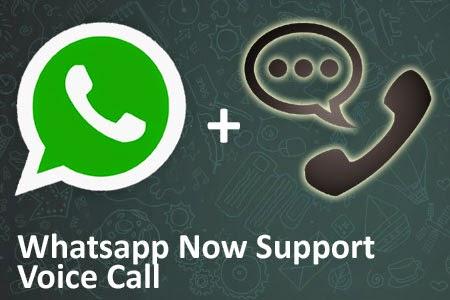 Whatsapp Android Kini Mendukung Panggilan Suara