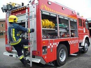 Los bomberos tuvieron trabajo el lunes