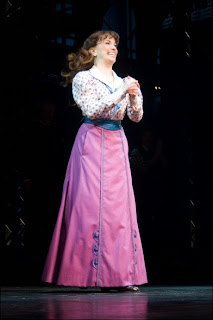 Kara Lindsay sings Watch What Happens, in Newsies on Broadway