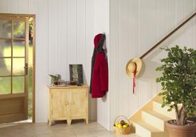 Recicoraci n c mo forrar paredes de madera acogedoras y - Friso pvc barato ...