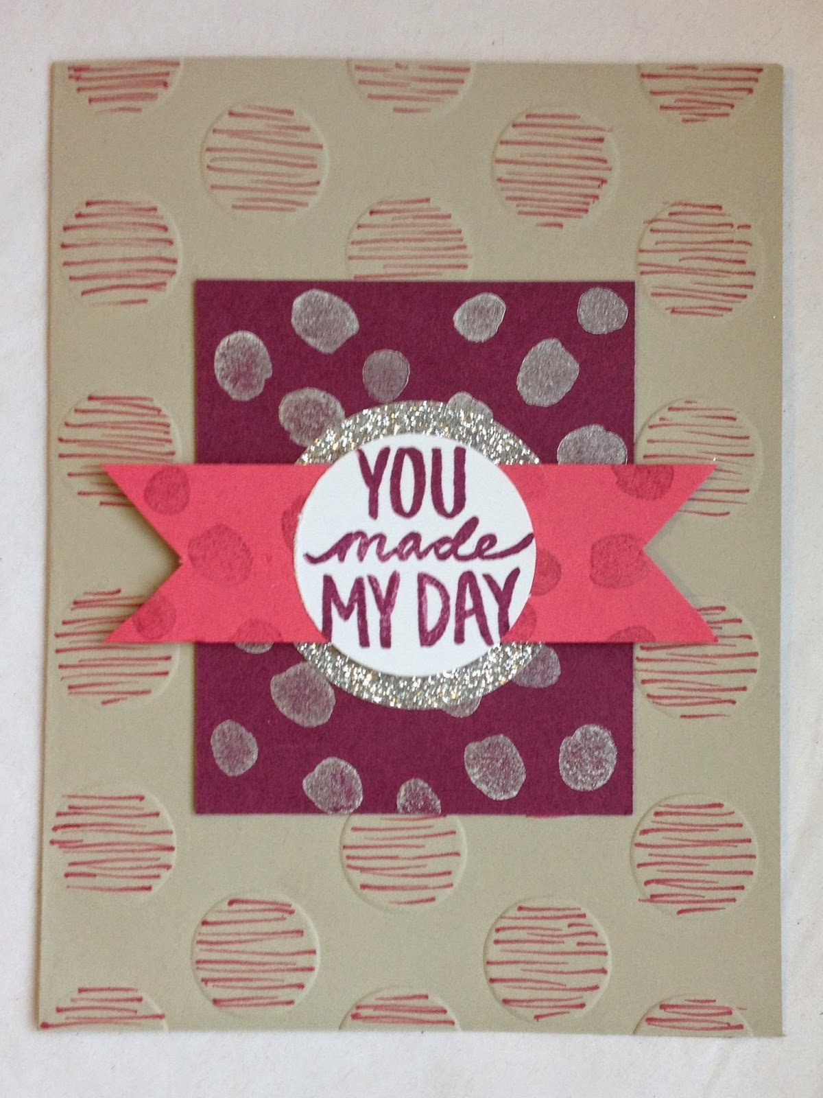 Stampin Up Sale-a-Bration 2015 MidnightCrafting Best Day Ever silver