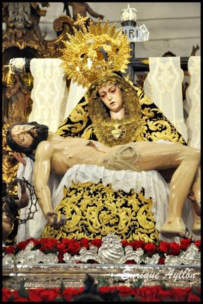 Cristo de la Providencia Los Servitas Sevilla 2013