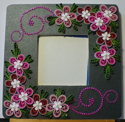 Let 39 S Create Decorated Foam Board Photo Frame