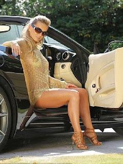 Ola Jordan mocca bikini Marbella Spain
