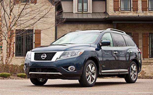 новый Nissan Pathfinder 2013