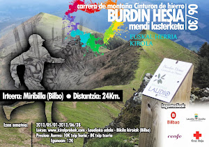 Burdin Hesia: 24km / 1100mD+