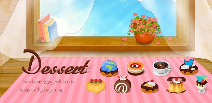 Dessert - GO Launcher Theme apk