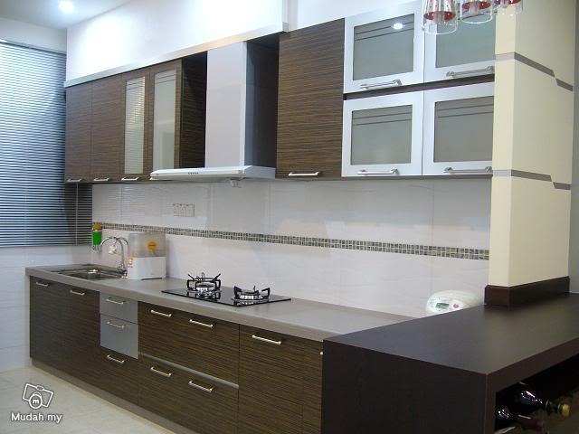 design kabinet dapur reka hias rumah teres share the