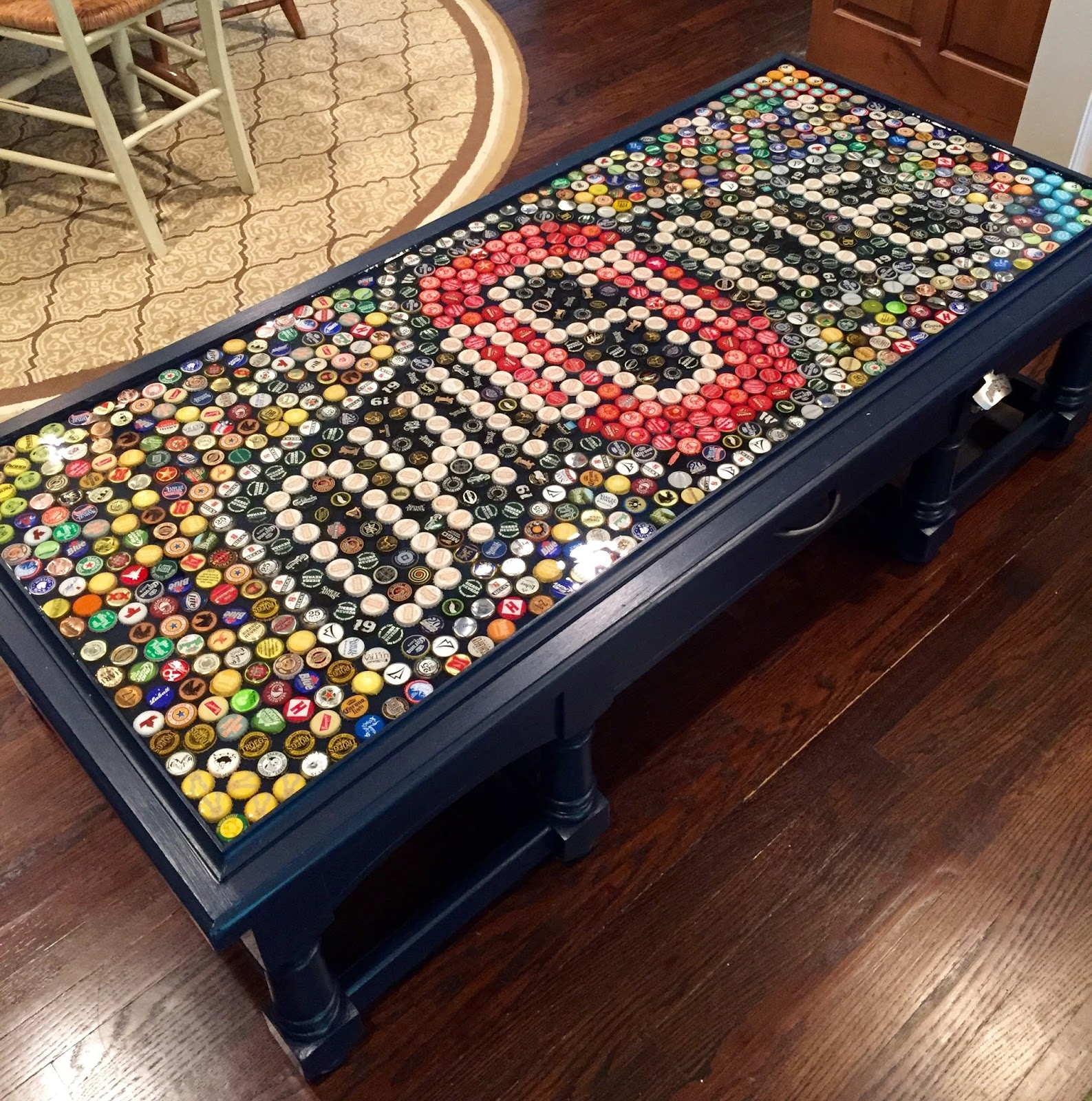 Candacefrances Ohio State Beer Cap Table
