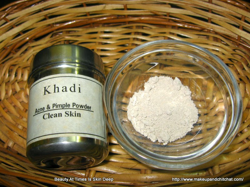 Khadi Anti Pimple Face Pack for oily skin