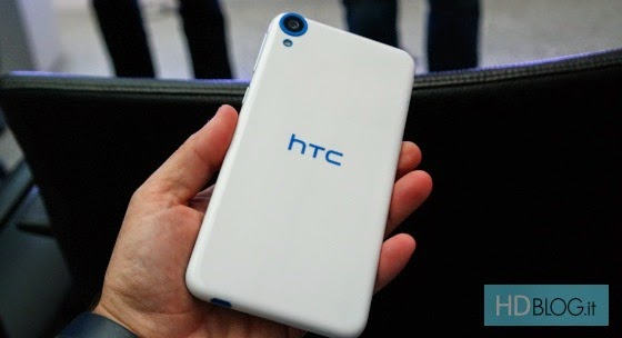 Some pictures of HTC Desire 820