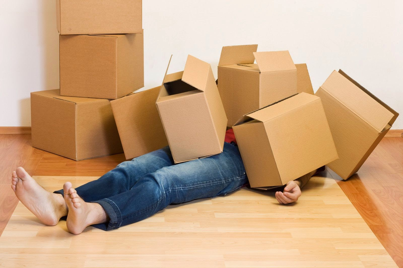 Moving home can be a stressful time