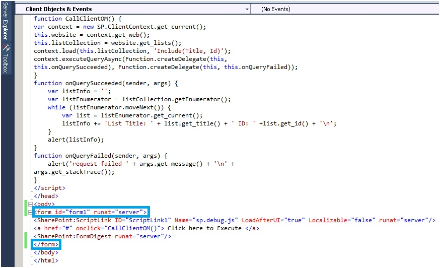 Walk Through SharePoint 2010: A page can have only one server-side ...