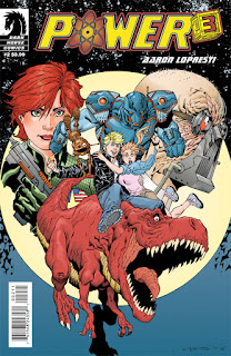 Cover of Power Cubed #2, Courtesy of Dark Horse Comics