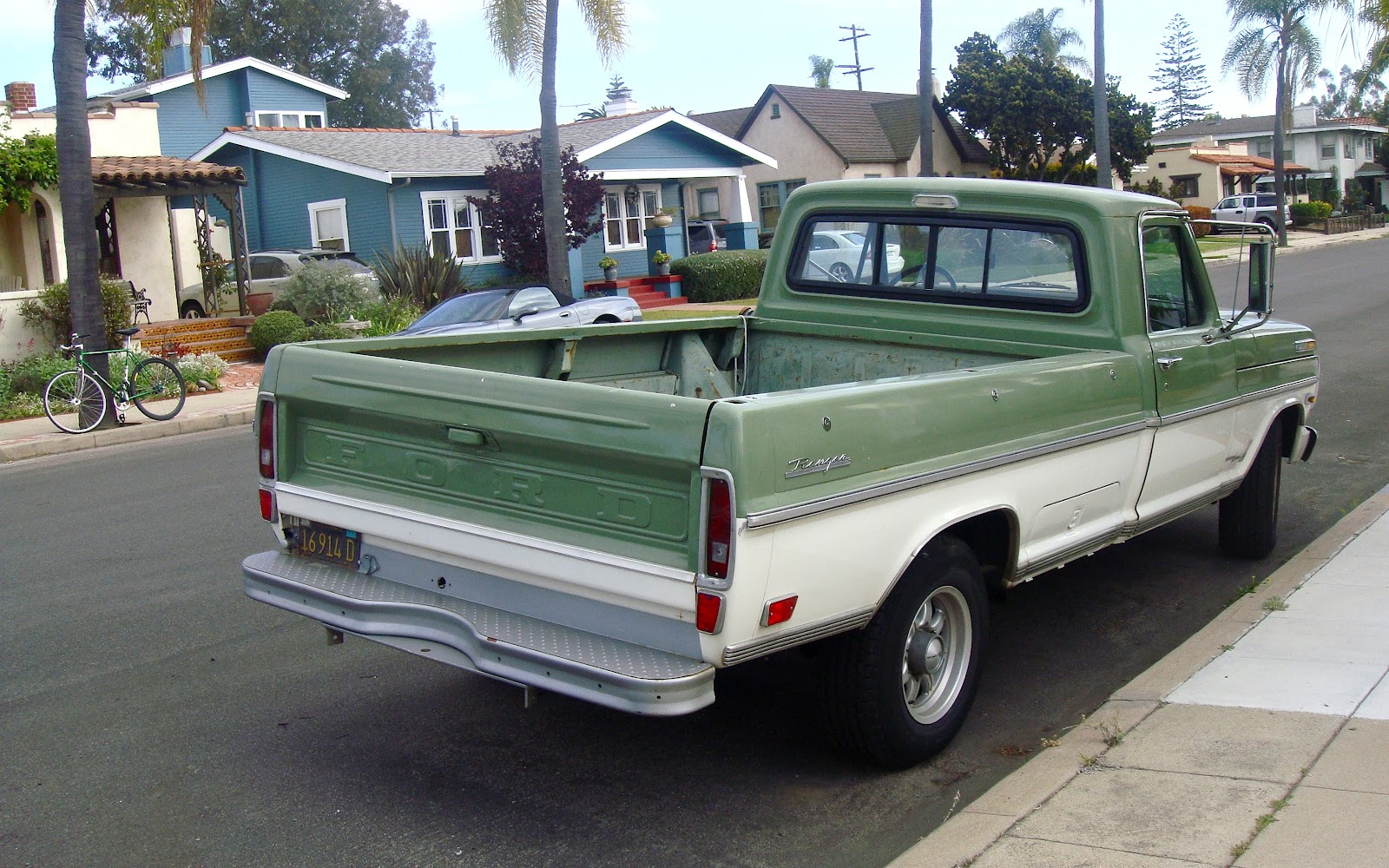 The Street Peep 1969 Ford F 250 Ranger Camper Special Flatbed