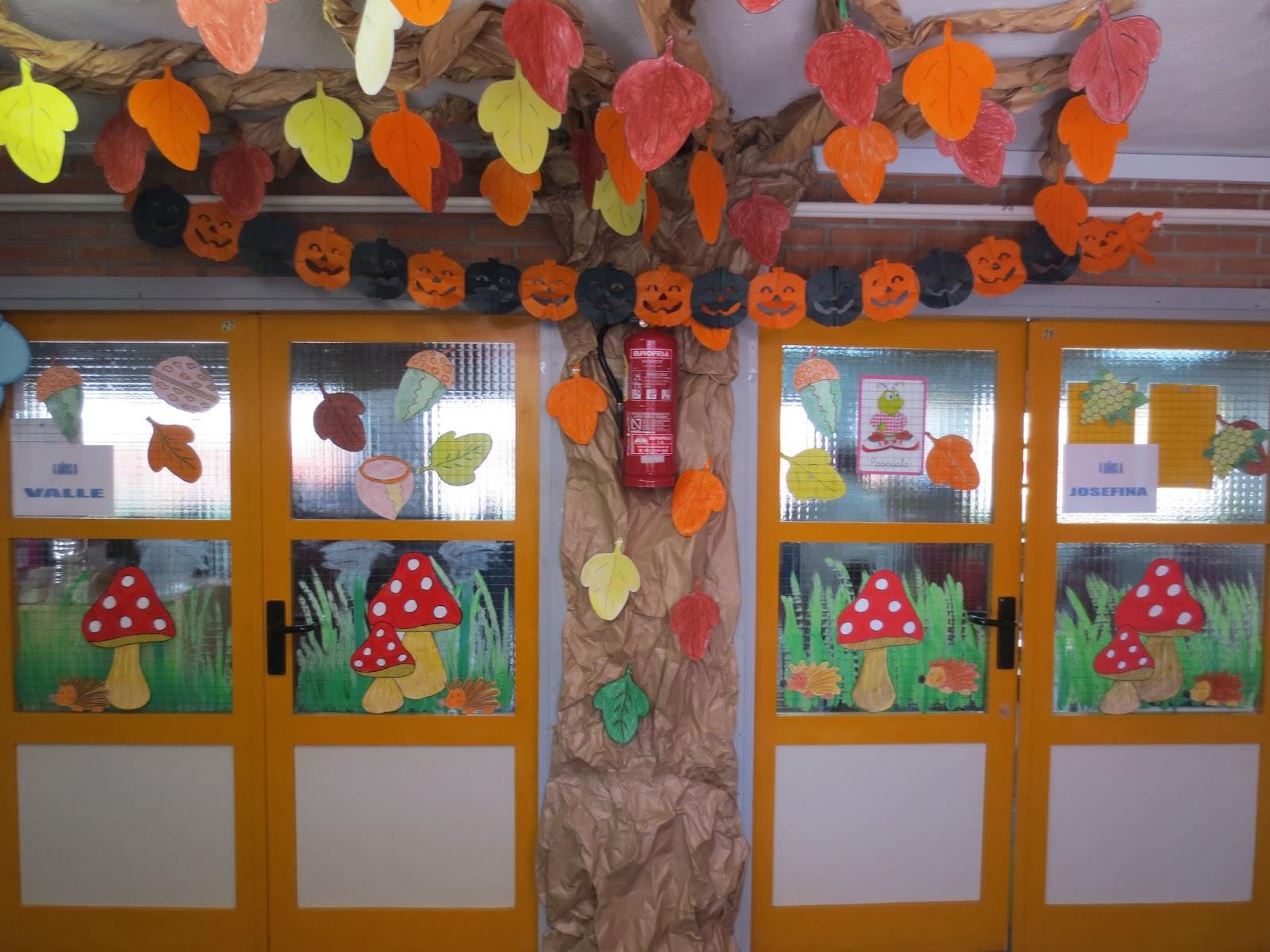 ceip maestra trinidad garc a decoraci n de oto o de infantil On decoracion otono infantil