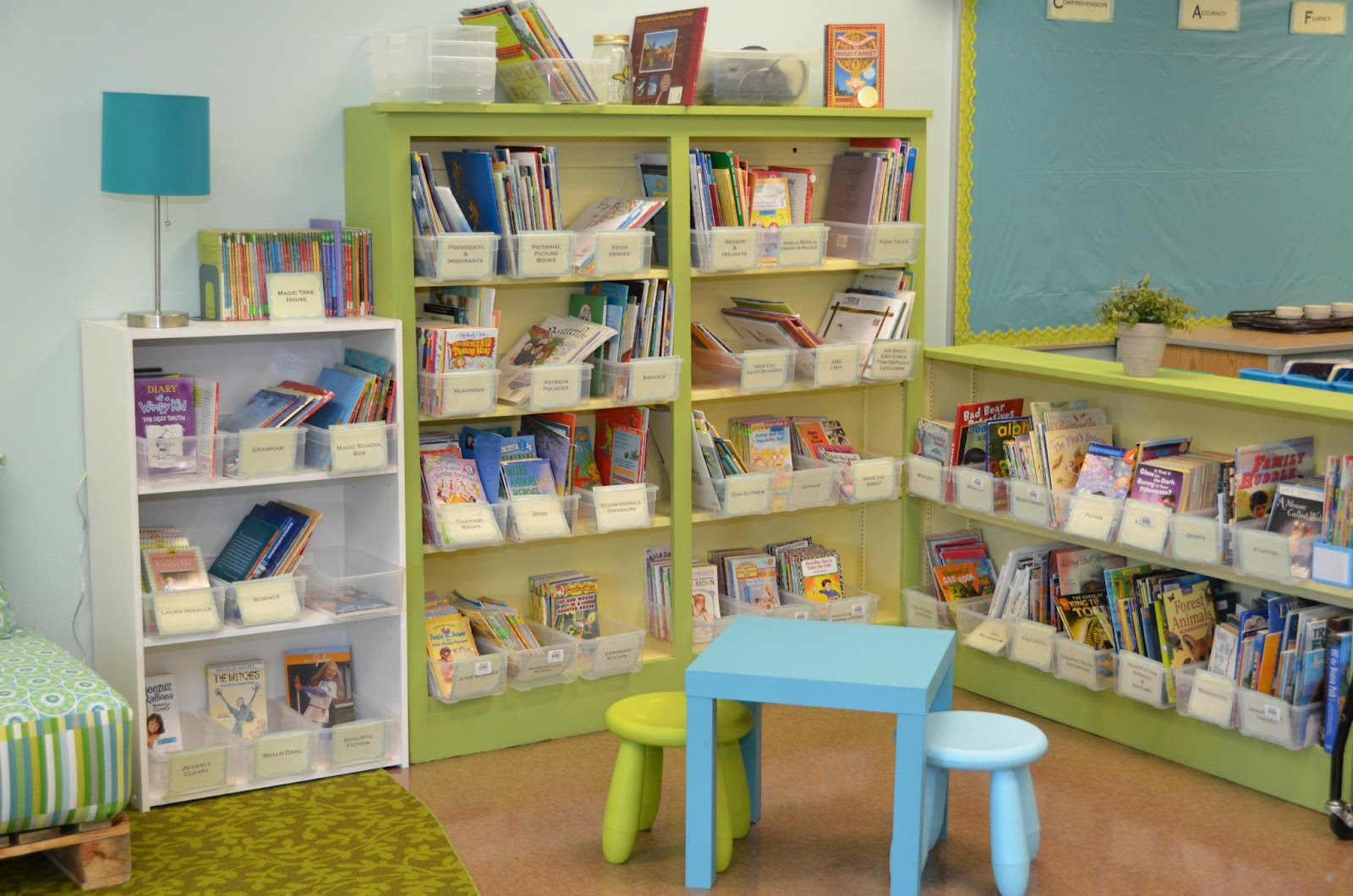 Classroom simple for Cheap book storage