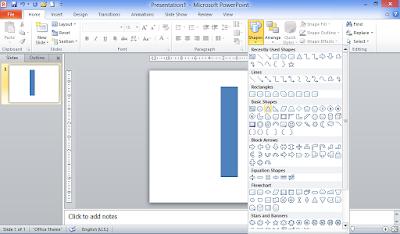 Pensil untuk Powerpoint, Kreasi Powerpoint