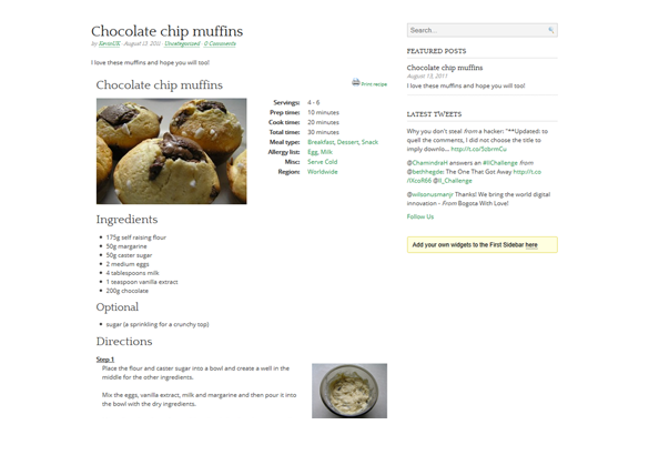 Foodie Plugins: Free WordPress Plugins for Food Blogs, Recipe Sites & Restaurants