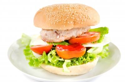 Recetas de cocina saludables y fáciles: Hamburguesa integral