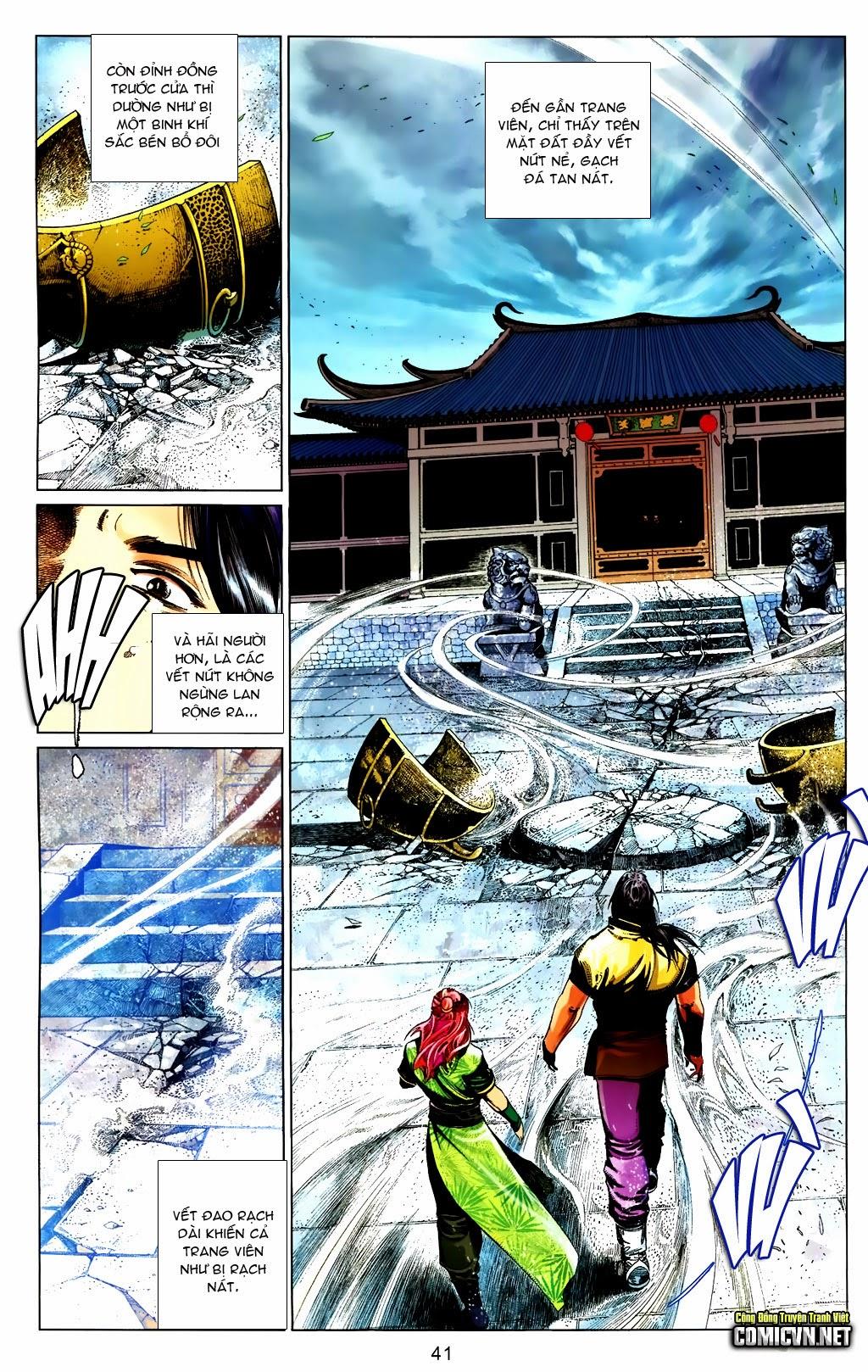 Phong Vân Chap 663 - Trang 41