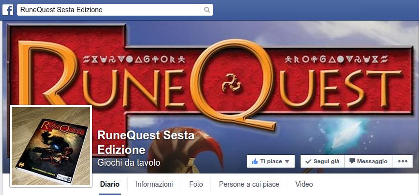Vai alla pagina FB