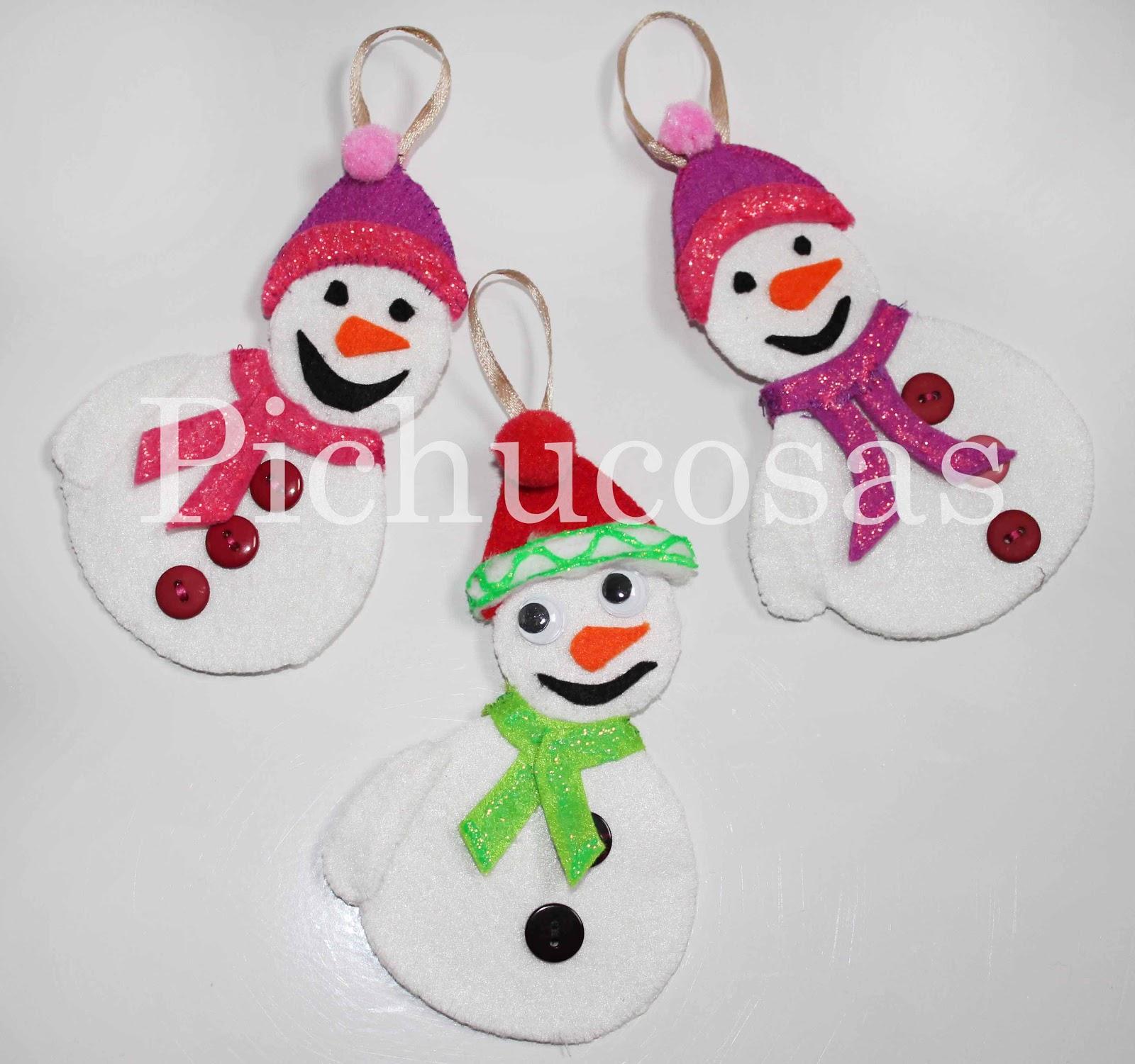 Pichucosas decoraci n para navidad vol 3 mu ecos de - Nieve para arbol de navidad ...