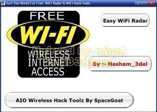 Wifi Hack Tools with Wifi Radar