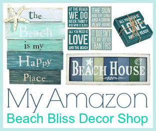 Beach Quote Decor Amazon