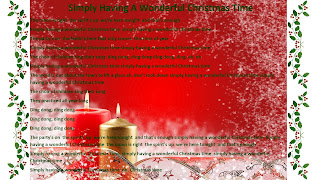 to add them here for the rest of the world to enjoy feel free to save the slides and view them full screen have fun with these christmas lyrics - Simply Having A Wonderful Christmas Time Lyrics