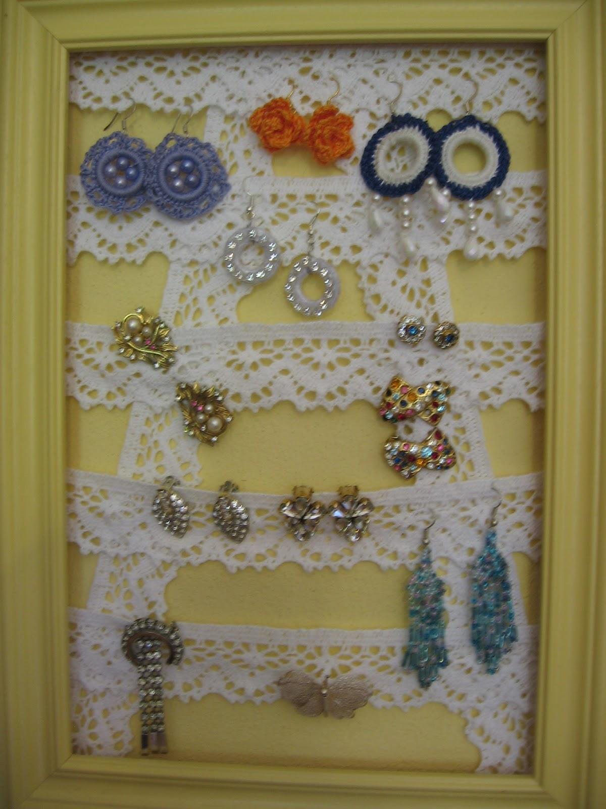 A me piace cosi 39 porta orecchini - Porta collane e orecchini ...