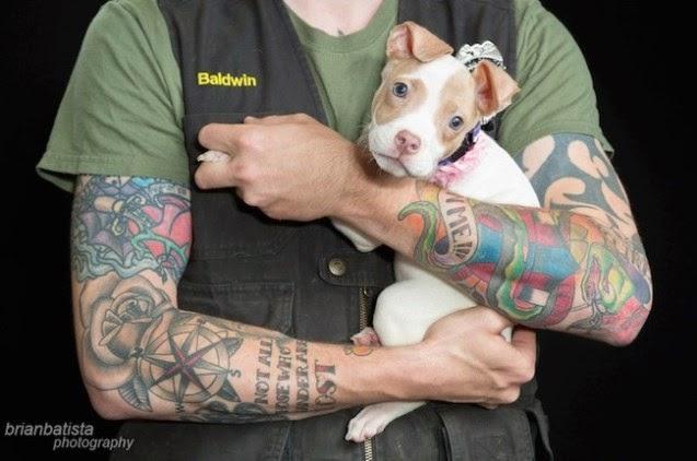tatuajes y pit bull