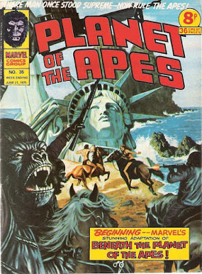 Marvel UK, Planet of the Apes #35, Beneath the Planet of the Apes
