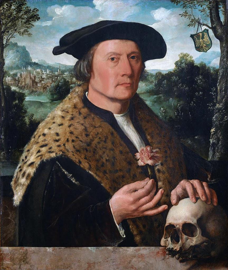 Portrait of Pompeius Occo, ca. 1531)