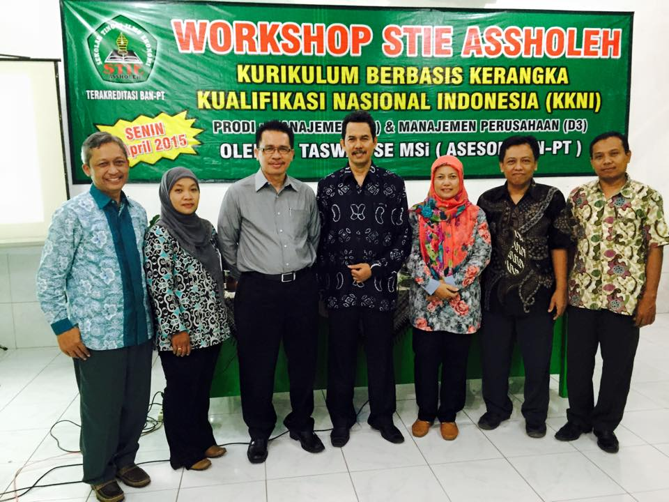 workshop di STIE ASSOLEH