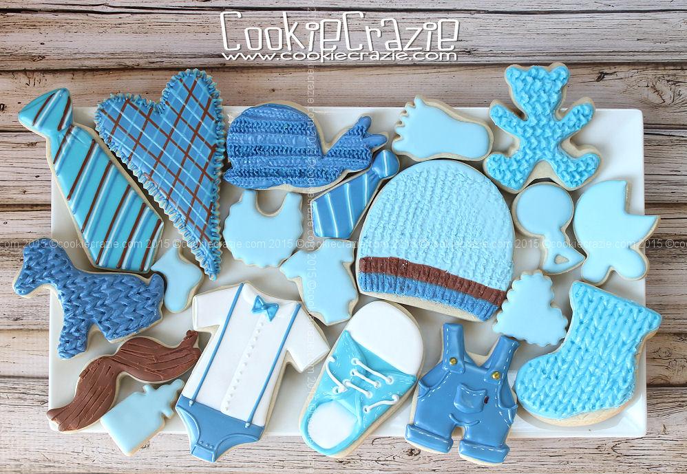 http://www.cookiecrazie.com/2015/04/baby-gender-reveal-boy-cookie-collection.html