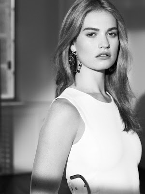 Lily James InStyle Magazine US March 2015 Photo Shoot