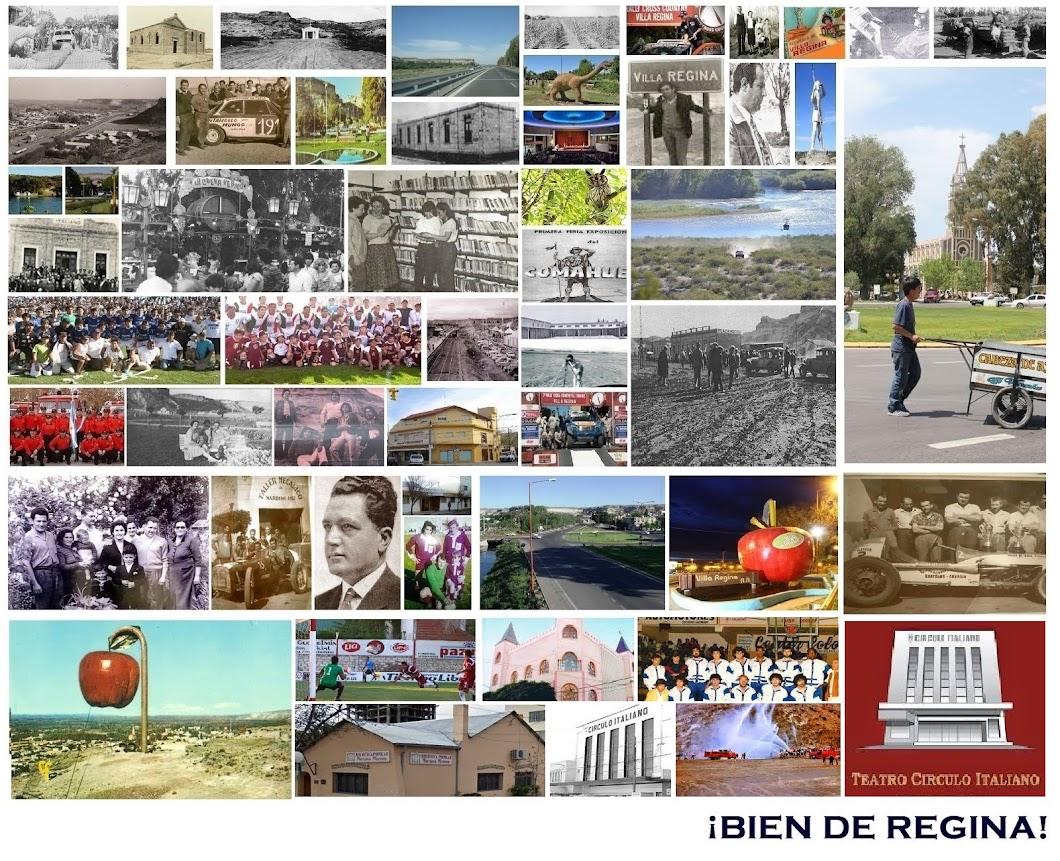 POSTALES DE VILLA REGINA - AYER Y HOY.