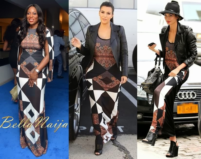 Made In Naijaa: Kim Kardashian, Lily Aldridge & Mo Abudu ... Kim Kardashian 2013 October