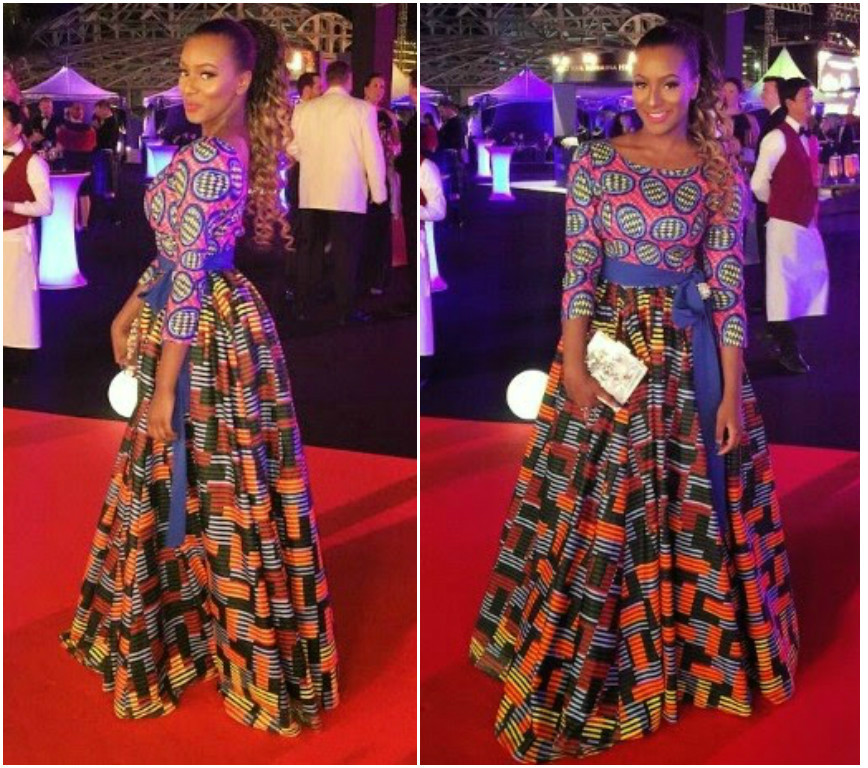 Ankara dresses styles for dinner long evening wears you Fashion and style school in nigeria